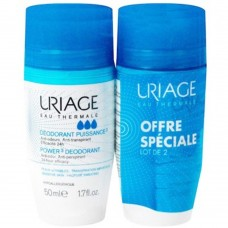 Uriage Eau Thermale Power3 Deodorant 2x50ml