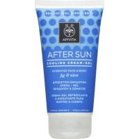 Apivita After Sun Cooling Cream Gel Fig And Aloe 150 ml