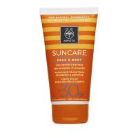 Apivita Suncare Face & Body Sun Protection Milk Sea Lavender & Propolis SPF30 150ml