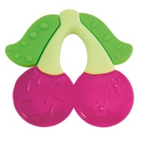 Fresh Relax Baby Teething Rings - Cooling Teether (Cherry) 4m+
