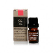 APIVITA ESSENTIAL OIL ROSE GERANIUM - ΓΕΡΑΝΙ 5ML