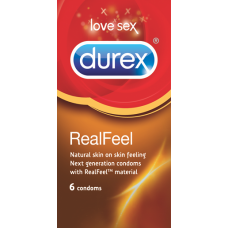 DUREX REAL FEEL 6 PCS
