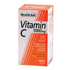 HEALTH AID VITAMIN C 1gr - Bioflavonoids P.R. 30vetabs