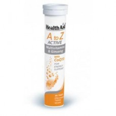 Health Aid  A to Z  ACTIVE Multivitamins & Ginseng με CoQ10, 20eff