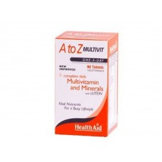 HEALTH AID A TO Z MULTIVIT - Lutein 90vetabs