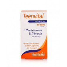 HEALTH AID TEENVITAL MULTIVITAMINS 30vetabs