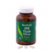 HEALTH AID MILK THISTLE 500MG 30vetabs