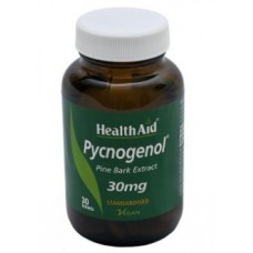 HEALTH AID PYCNOGENOL 30MG 30vetabs