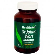 HEALTH AID ST. JOHN'S WORT EXTRACT 500MG 30vetabs
