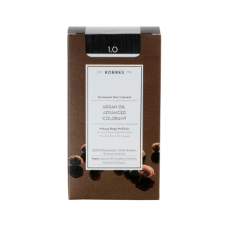 KORRES ARGAN OIL ADVANCED COLORANT 1.0 ΜΑΥΡΟ ΦΥΣΙΚΟ 145ml