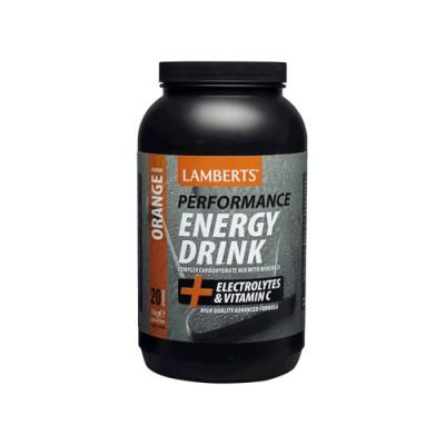 LAMBERTS ENERGY DRINK ORANGE 1000gr