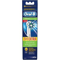 ORAL B Cross Action 3+1 Free Gift Replacement Brushes