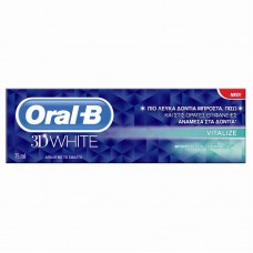 ORAL B 3D WHITE VITALIZE 75ML