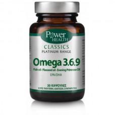 POWER HEALTH CLASSICS PLATINUM OMEGA 3, 6, 9 30caps
