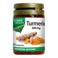 POWER HEALTH TURMERIC 500mg 30caps