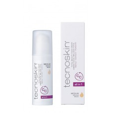 Tecnoskin Total Beauty Face Cream All in One Medium 50ml