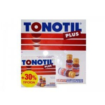 TONOTIL PLUS AMPOULES 10X10ML + 30% ΠΡΟΙΟΝ