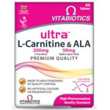 VITABIOTICS ULTRA L-CARNITINE & ALA 60tabs