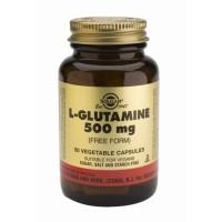 SOLGAR L-GLUTAMINE 500MG 50VCAPS
