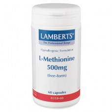 LAMBERTS L-METHIONINE 500MG 60caps