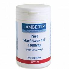 LAMBERTS PURE STARFLOWER OIL 1000MG 90caps