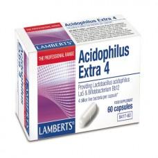 LAMBERTS ACIDOPHILUS EXTRA 4 (MIK FREE) 60caps