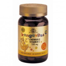 SOLGAR KANGAVITES VITAMIN C ORANGE 100MG 90ΤABS