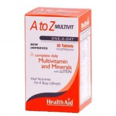 HEALTH AID A TO Z MULTIVIT 30 tabs
