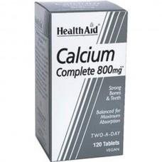 HEALTH AID CALCIUM COMPLETE 800MG 120vetabs