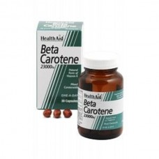 HEALTH AID BETA CAROTENE 23000iu 30caps