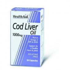 HEALTH AID COD LIVER OIL 1000MG 30caps