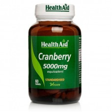 HEALTH AID CRANBERRY 5000MG 60vetabs