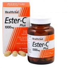 HEALTH AID ESTER C PLUS 1gr 30vetabs