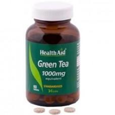 HEALTH AID GREEN TEA 1000MG 60vetabs