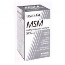 HEALTH AID MSM METHANE 1000MG 90vetabs