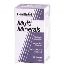 HEALTH AID MULTIMINERALS 30tabs