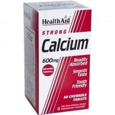 HEALTH AID CALCIUM 600MG - Μασώμενο 60tabs