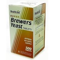 HEALTH AID BREWERS YEAST 500tabs