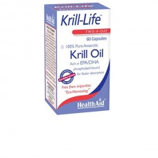 HEALTH AID KRILL-LIFE KRILL OIL 500MG 60caps