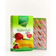 POWER HEALTH MULTI+MULTI EXTRA 30tabs