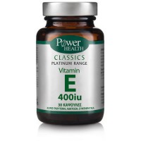 POWER HEALTH CLASSICS PLATINUM VITAMIN E 400iu 30softcaps