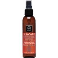 Apivita Αντηλιακό Λάδι Μαλλιών Suncare Protective Hair Oil Sunflower & Abyssinian Oil 150ml