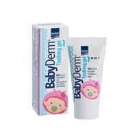 Intermed Babyderm Teething gel 30ml Aνακούφιση των συμπτωμάτων της πρώτης οδοντοφυΐας