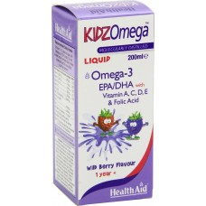 HEALTH AID KIDZ OMEGA -LIQUID ΒΑΤΟΜΟΥΡΟ 200ml