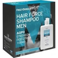 FREZYDERM HAIR FORCE SHAMPOO MEN & ΔΩΡΟ 100ML