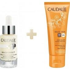 Caudalie Set Vinoperfect Serum & Αντιηλιακό Προσώπου
