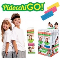 OEM Pidocchi Go Αντιφθειρική Κορδέλα Μαλλιών Κίτρινη