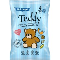 Mclloyds Little Angels Teddy Σνακ από Βιολογικό Καλαμπόκι 30gr