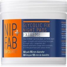 Nip+Fab Glycolic Fix Xtreme Night Pads 60τμχ