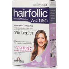 VITABIOTICS HAIRFOLLIC WOMAN 60tabs (πρώην TRICOLOGIC WOMAN)